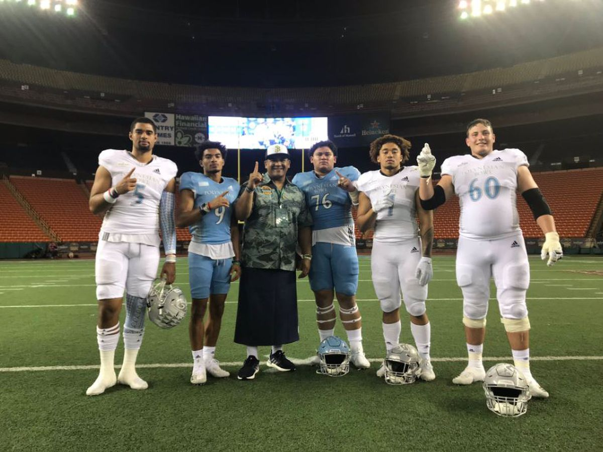 Team Mauka edges Team Makai 20-13 in Polynesian Bowl