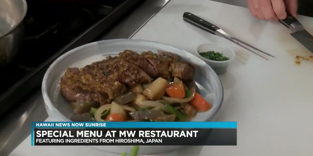 MW Restaurant honors city of Hiroshima with special menu