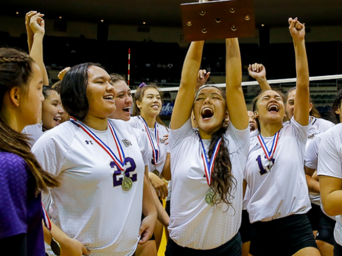 Monarchs capture first ever state girls volleyball title