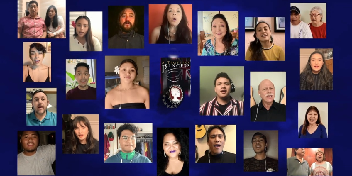 Despite being shut in by virus, cast of Hawaii musical reunites for video performance