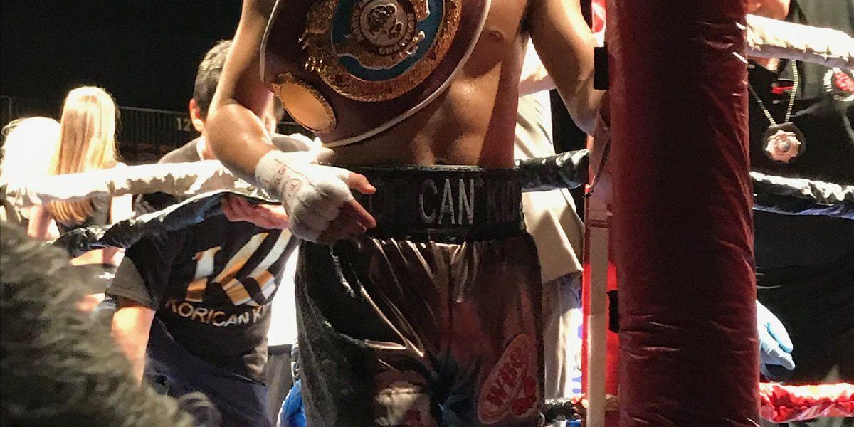 Hawaii native Logan Yoon wins NABO Super Lightweight boxing title