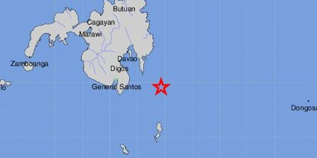 no tsunami threat to hawaii after large quake off philippines
