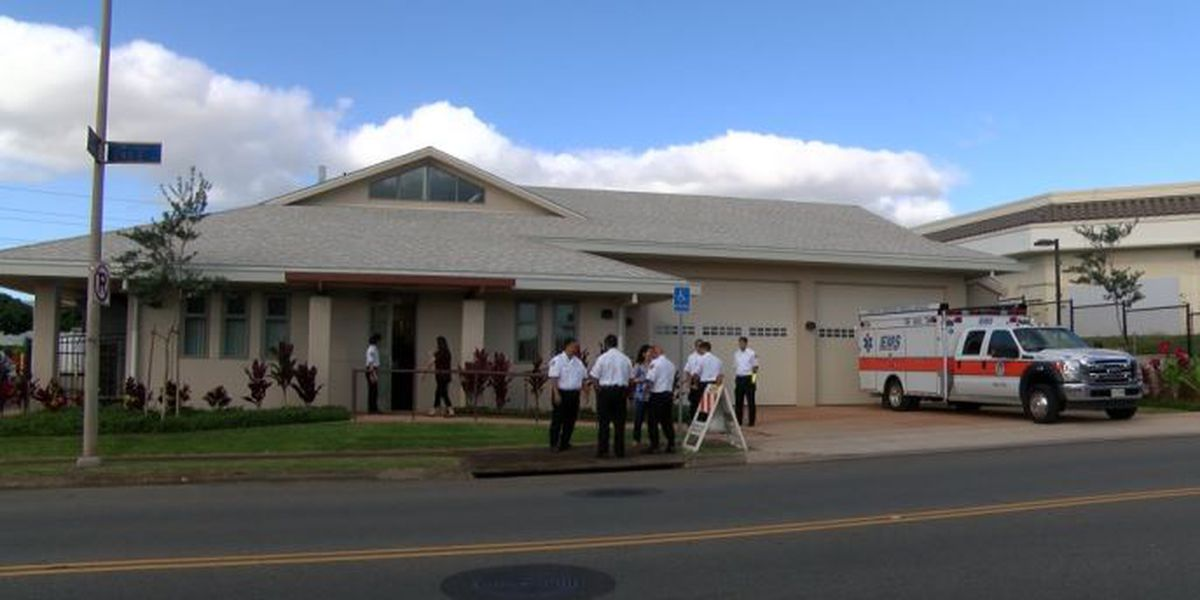 City celebrates opening of new Waipio EMS station