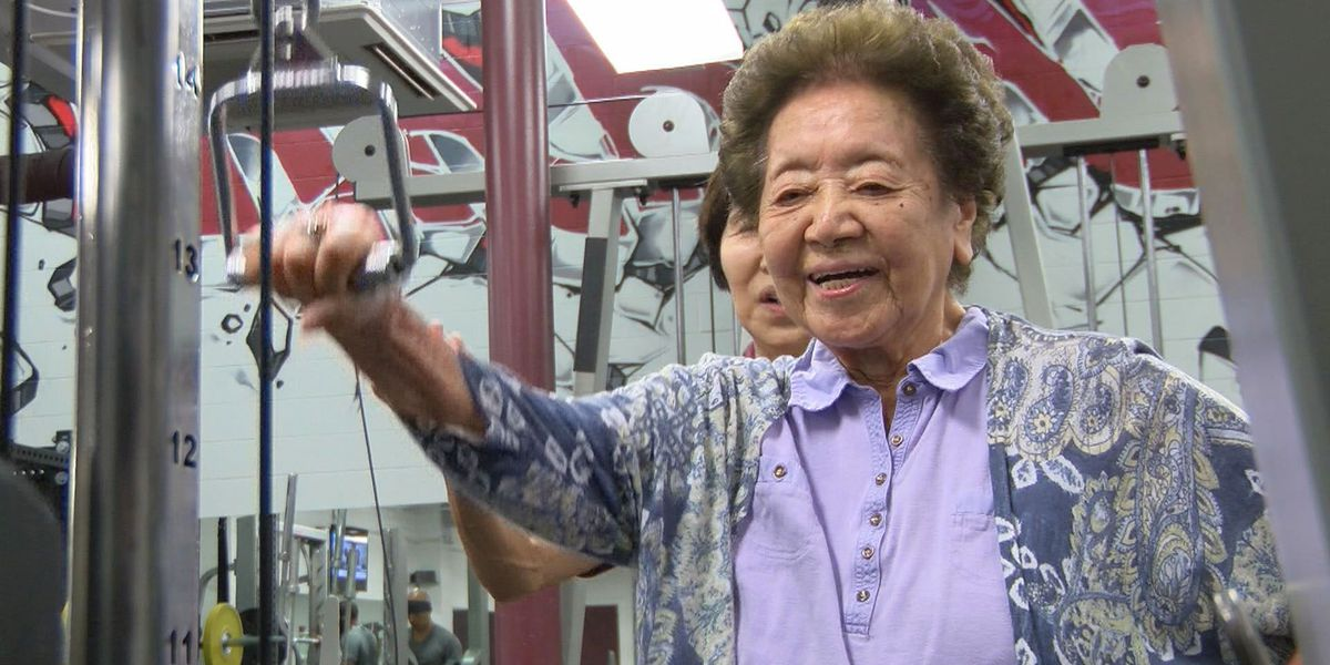 Meet the woman who just celebrated her 102nd birthday by hitting the gym