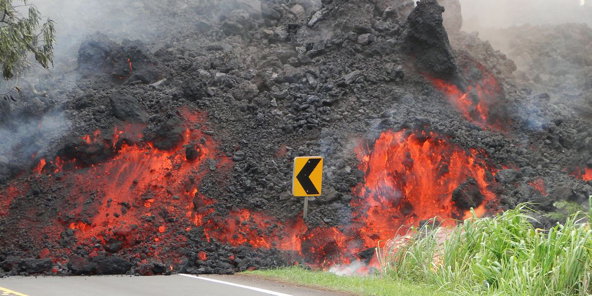 USGS: Kilauea lava flows as high as condos could take decades to fully solidify
