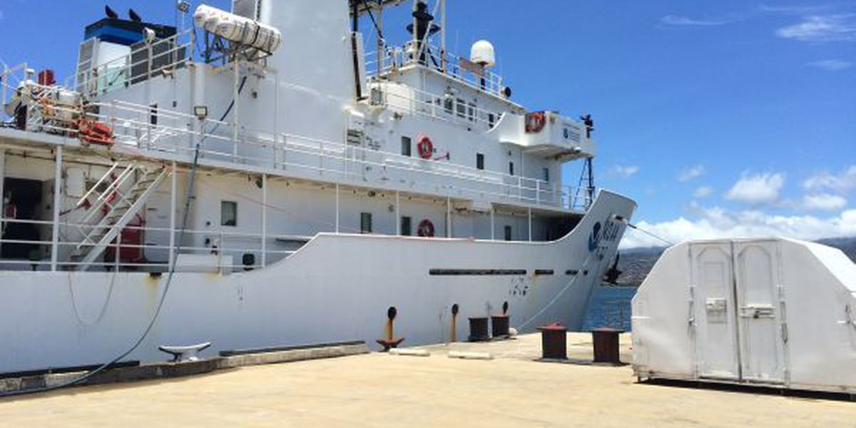 NOAA ship embarks on new expedition