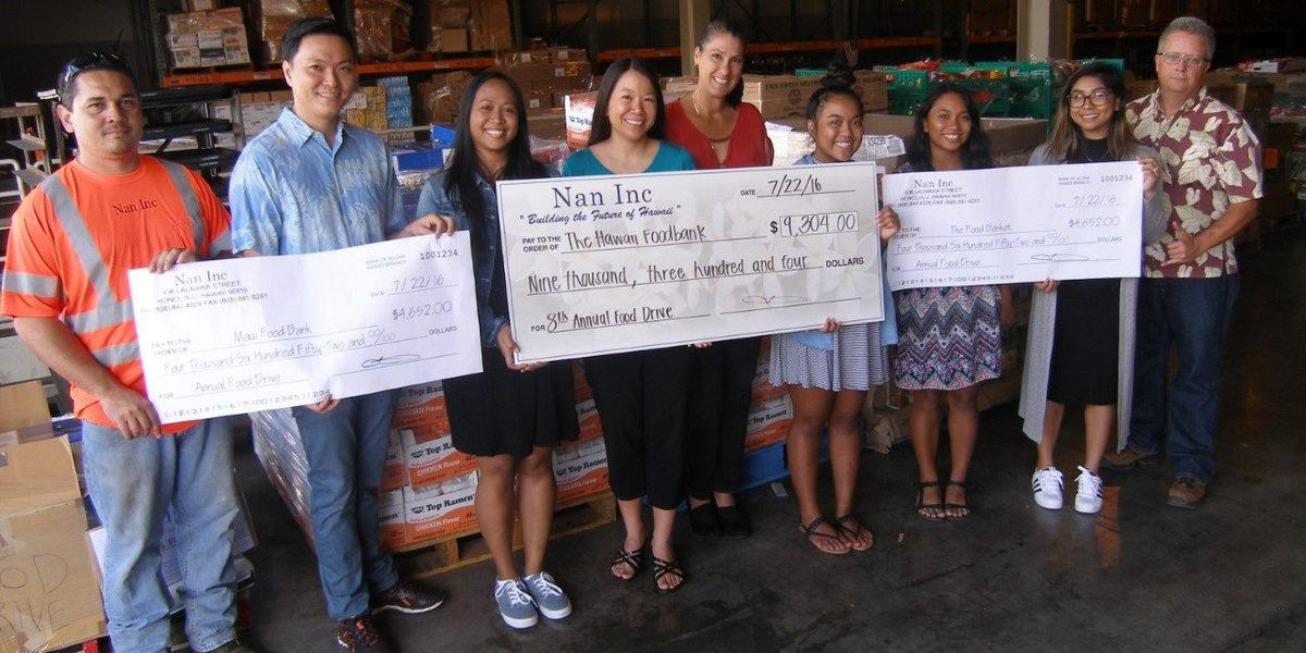 Over 48K meals donated by Nan Inc. to statewide food banks ahead of tropical storm