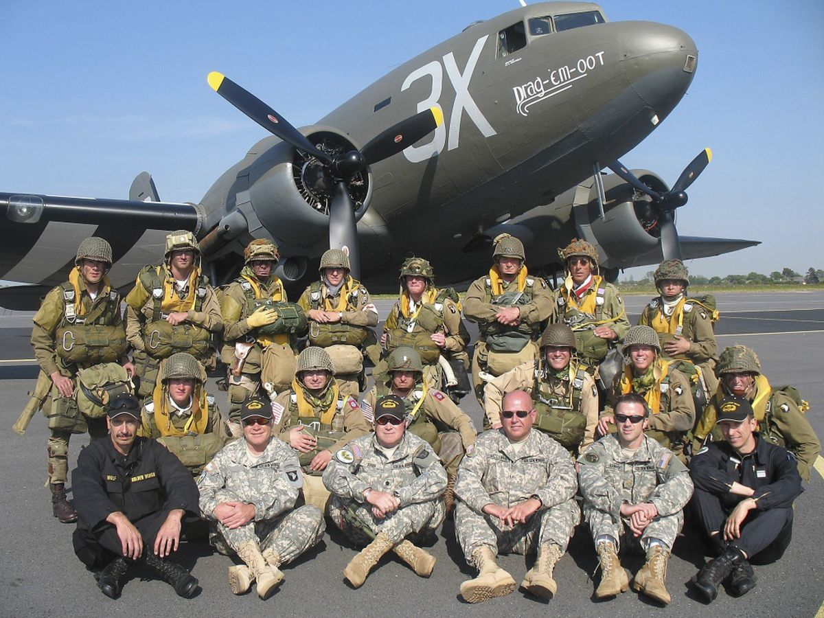 Liberty Jump Team will parachute into Normandy to commemorate D-Day