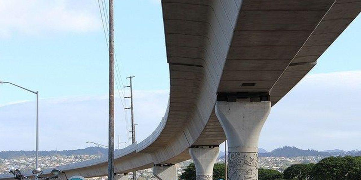 Honolulu rail construction to impact traffic near Pearl
