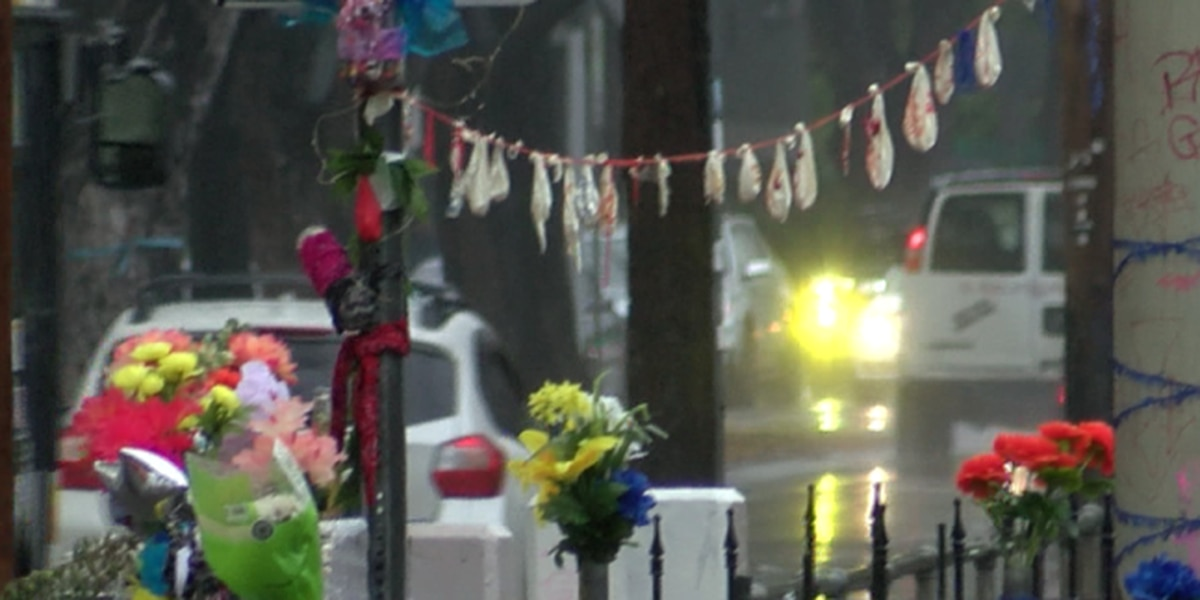 In McCully, memorial at site of fatal police shooting draws mourners around the clock