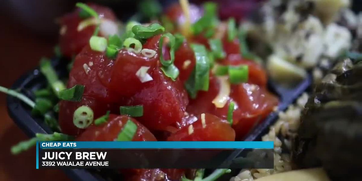 Cheap Eats: Juicy Brew