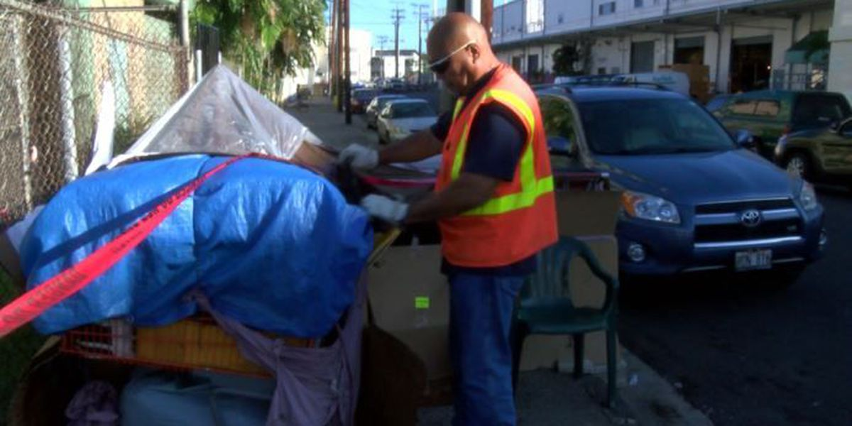 Court orders city to stop destroying property in homeless sweeps