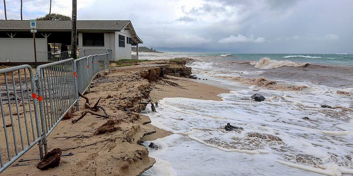 Baldwin Beach Park closed due to ongoing erosion issues