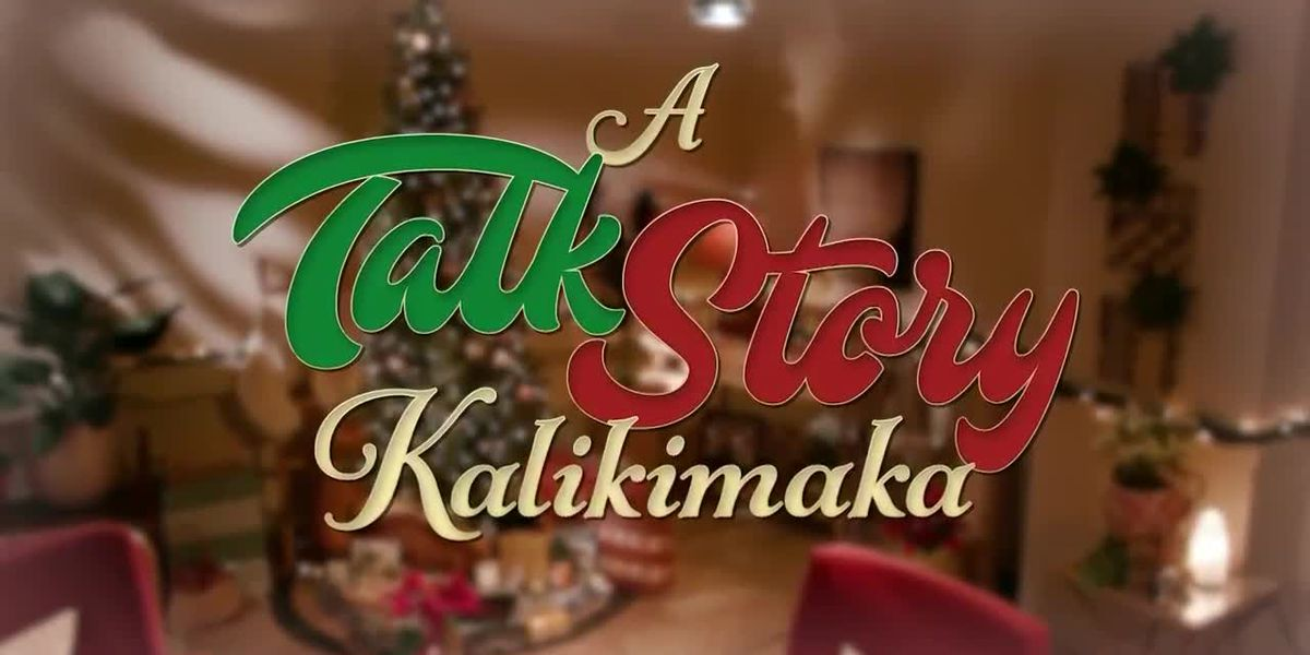 McKenna Maduli presents 'A Talk Story Kalikimaka' featuring Amy Hanaiali 'i sharing her memories of the Island Music Island Hearts 1998 Christmas Special with Willie K