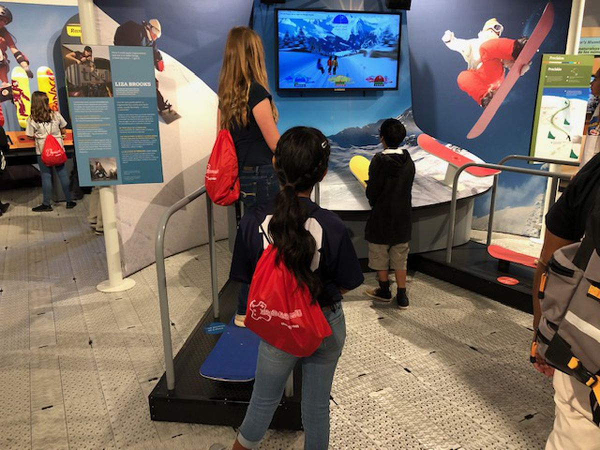 Interactive exhibit hits the mark by injecting fun into math