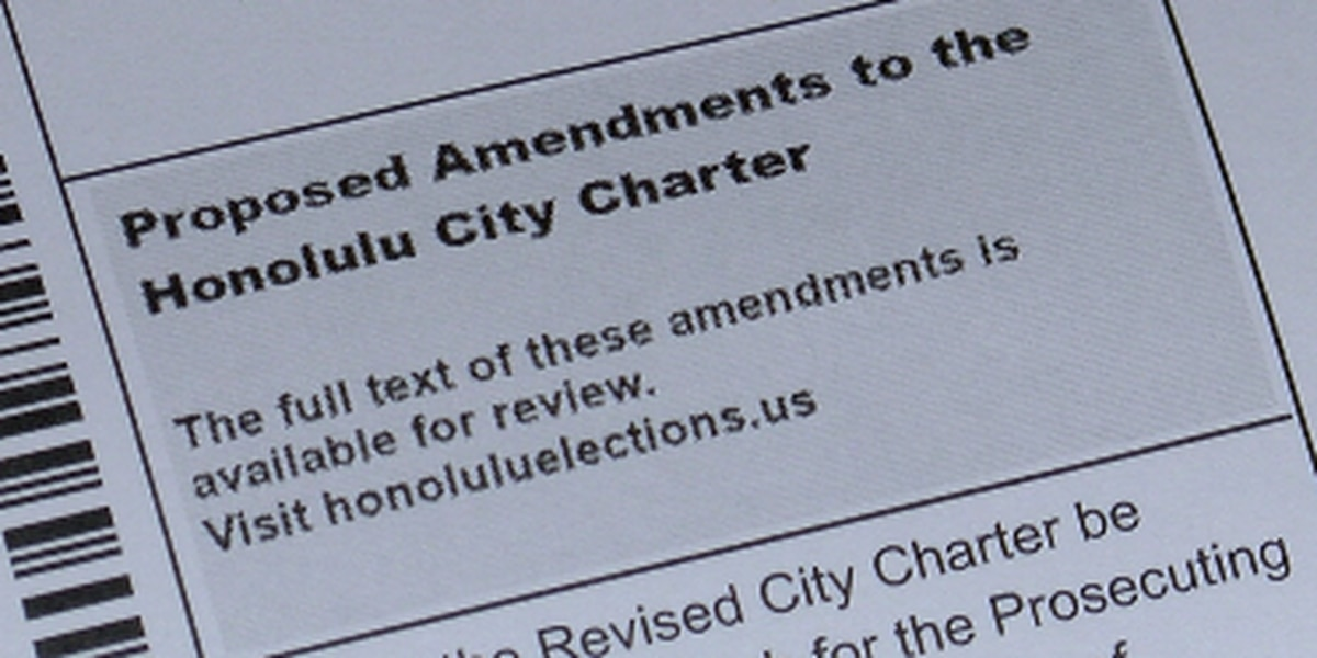 Voting on Honolulu's charter amendments? Here are the questions, simplified