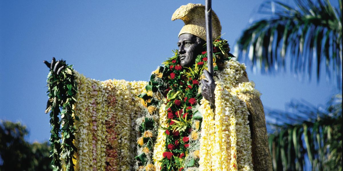 As Hawaii marks Kamehameha Day, here's a look at some of the statues in his honor