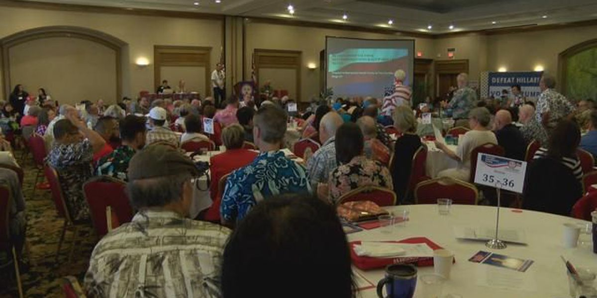 Hawaii's Republicans rally at annual convention
