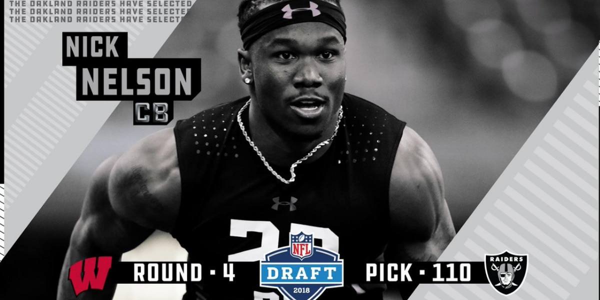 Former Warrior football's Nick Nelson drafted in 4th round of 2018 NFL Draft by Oakland Raiders
