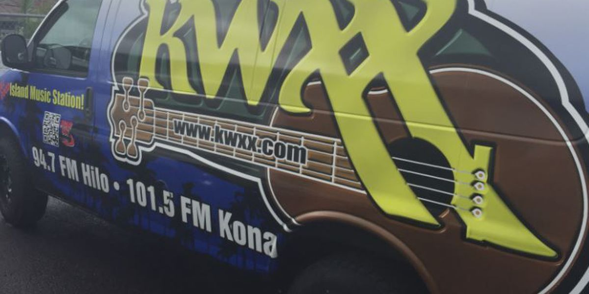 Thieves caught on camera stealing from Big Island radio station