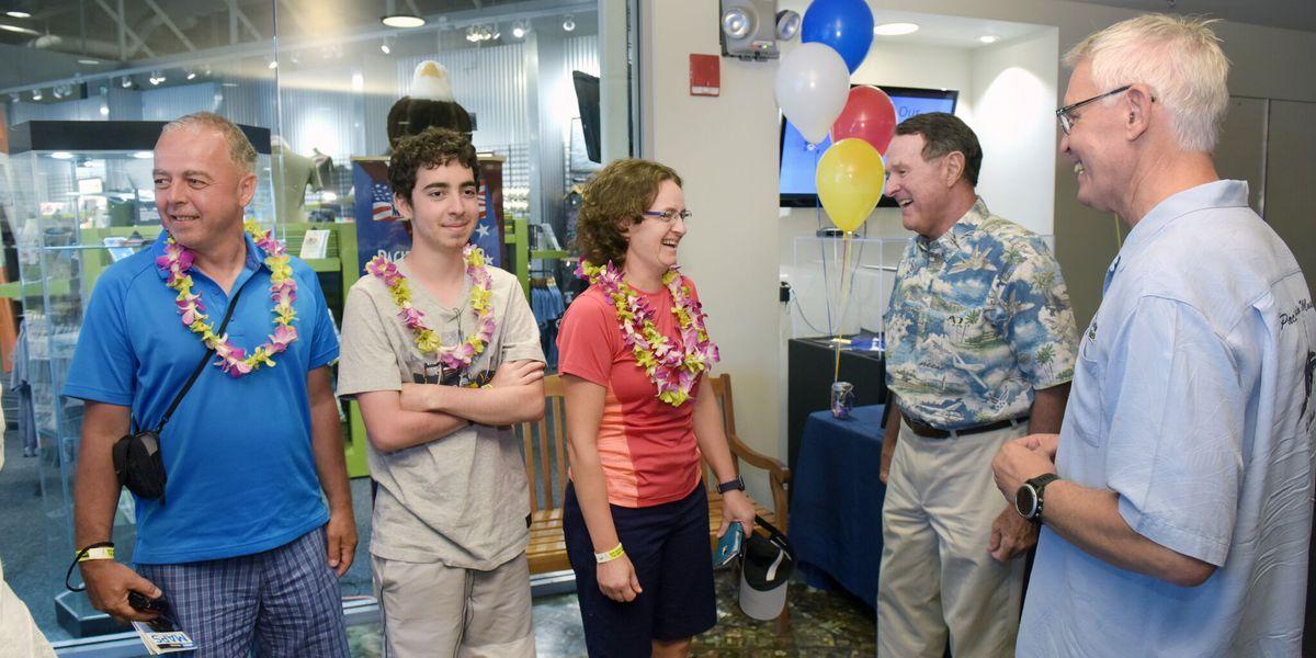 Pacific Aviation Museum celebrates 2 million visitors