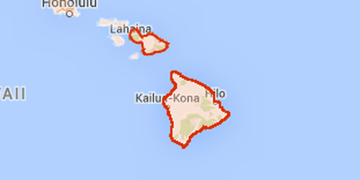 Flash Flood Watch issued for Big Island, Maui ahead of Guillermo
