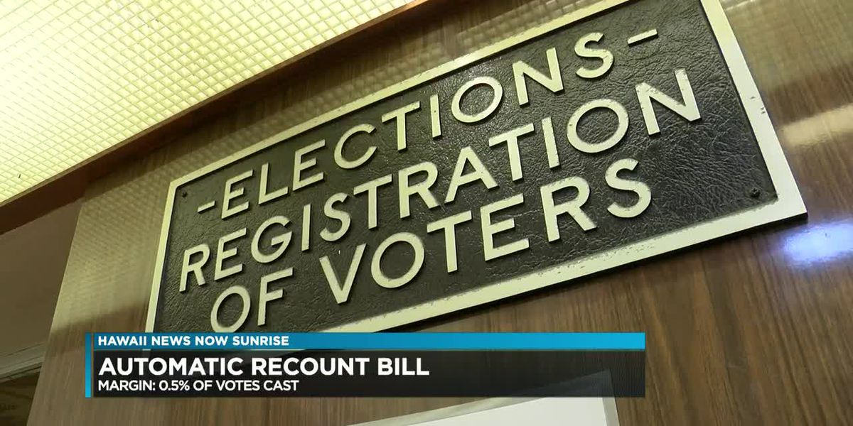 Automatic recount bill close to becoming law