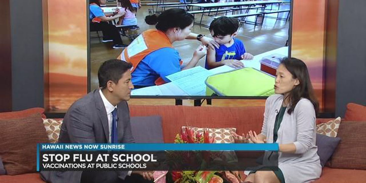 Hawaii Students Can Sign up for Flu Shots at School