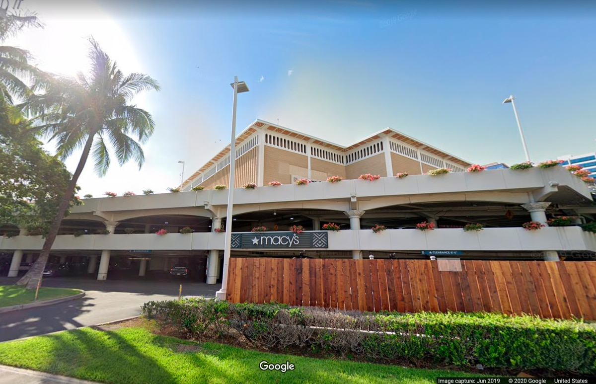 Ala Moana Center parking lot to serve as a drive-in movie theater