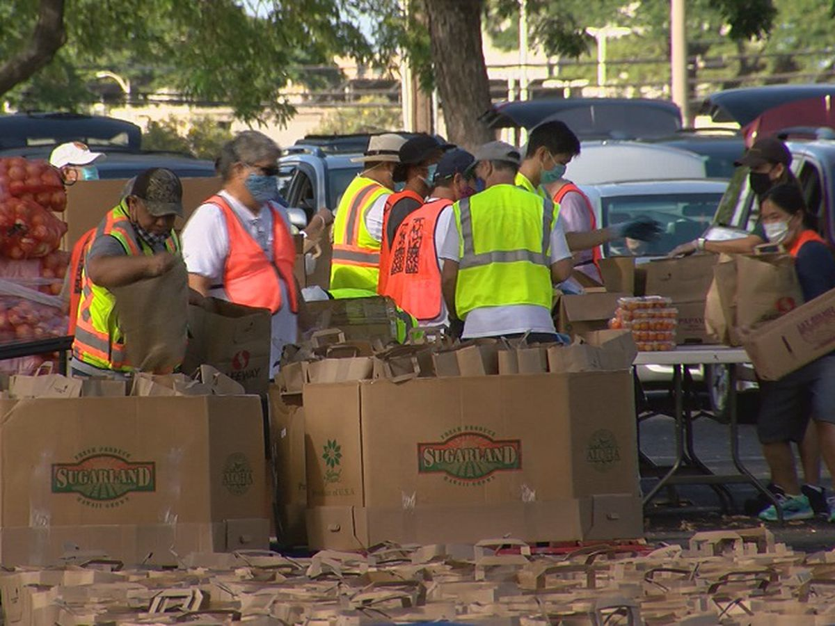 Hawaii Foodbank adds additional pop-up distribution events
