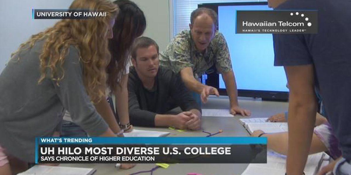 Trending: Most diverse public college in America, U.S. Open chicken fingers, boy tries cocoa powder