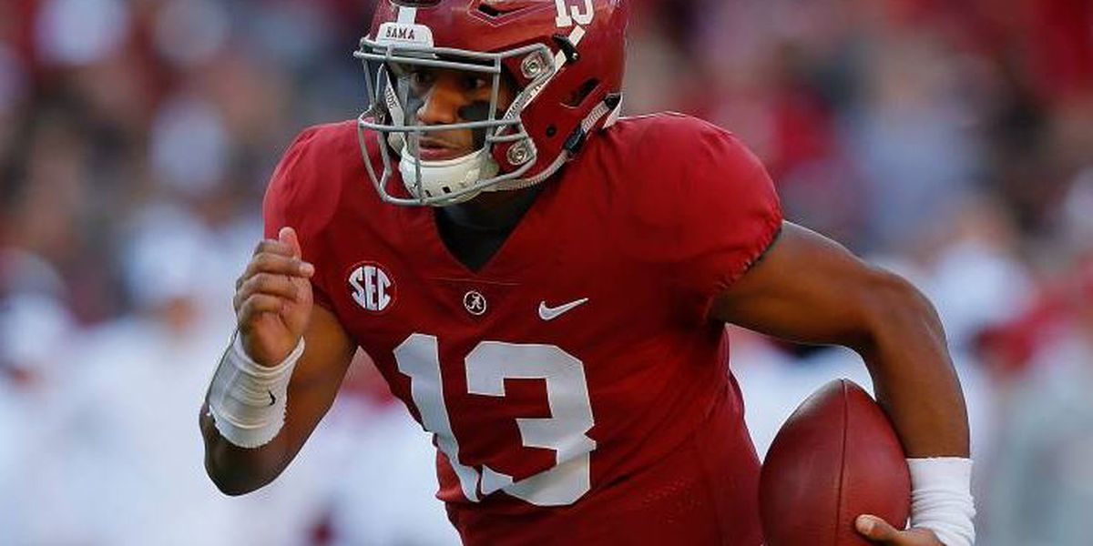 Tagovailoa's near-perfect day guides Alabama past The Citadel, 50-17