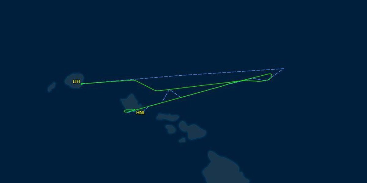 American Airlines flight from Lihue to Phoenix diverted to Honolulu