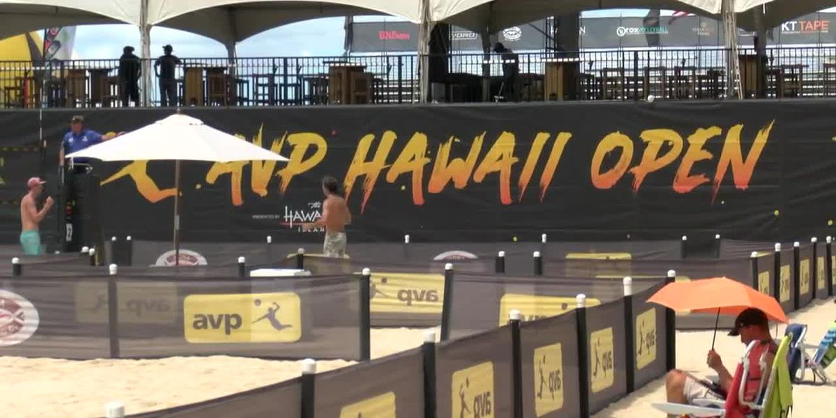 Local players excited to represent home state at AVP Hawaii Open