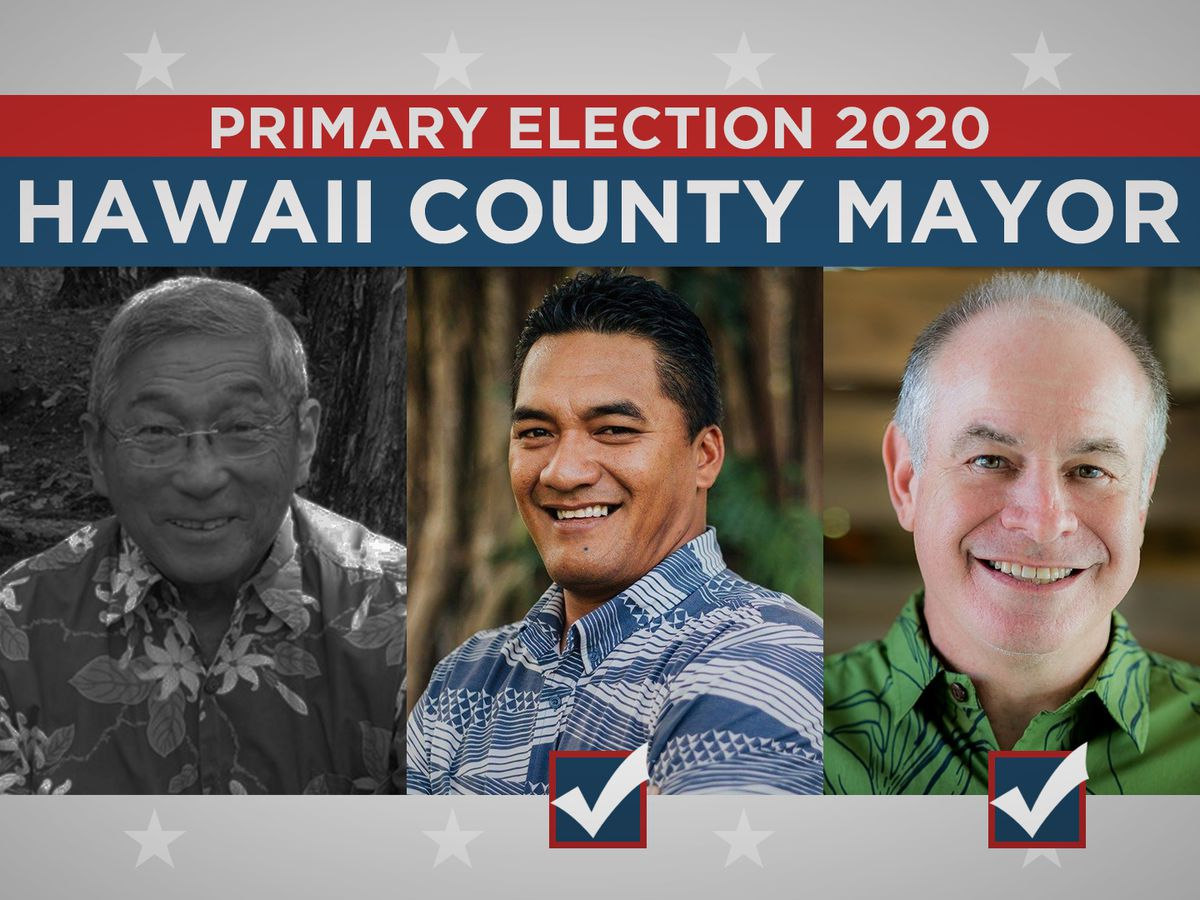 Big Island Mayor Kim fails to win reelection as Roth, Marzo to face off in general election