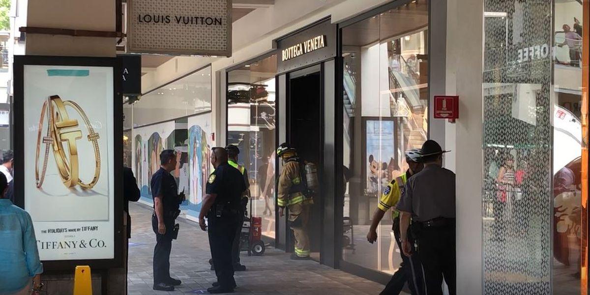 Smoky Ala Moana Center blaze ruins nearly $6M in high-end goods