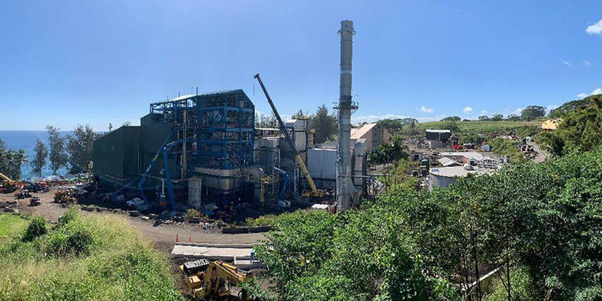 State Supreme Court examines challenges to controversial Big Island power plant