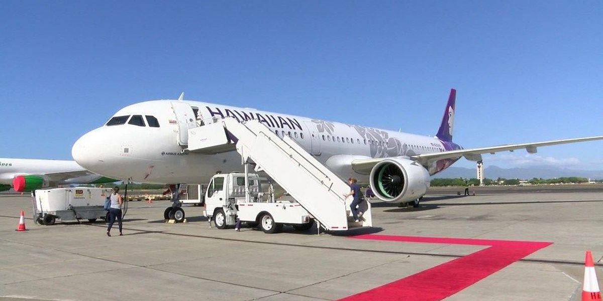 Hawaiian welcomes first of 18 new, more efficient planes to fleet