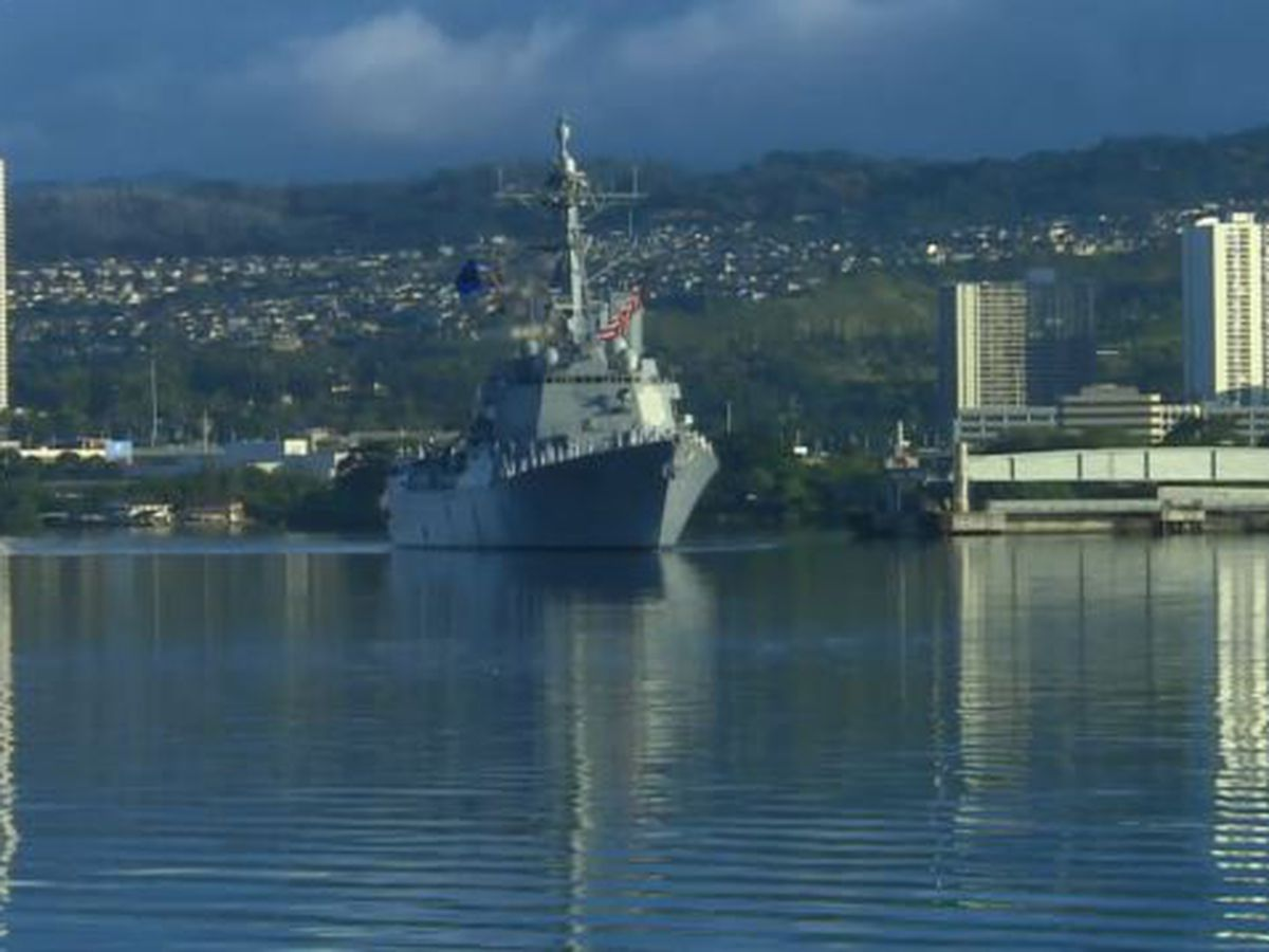 Pearl Harbor sailor arrested following online enticement sting
