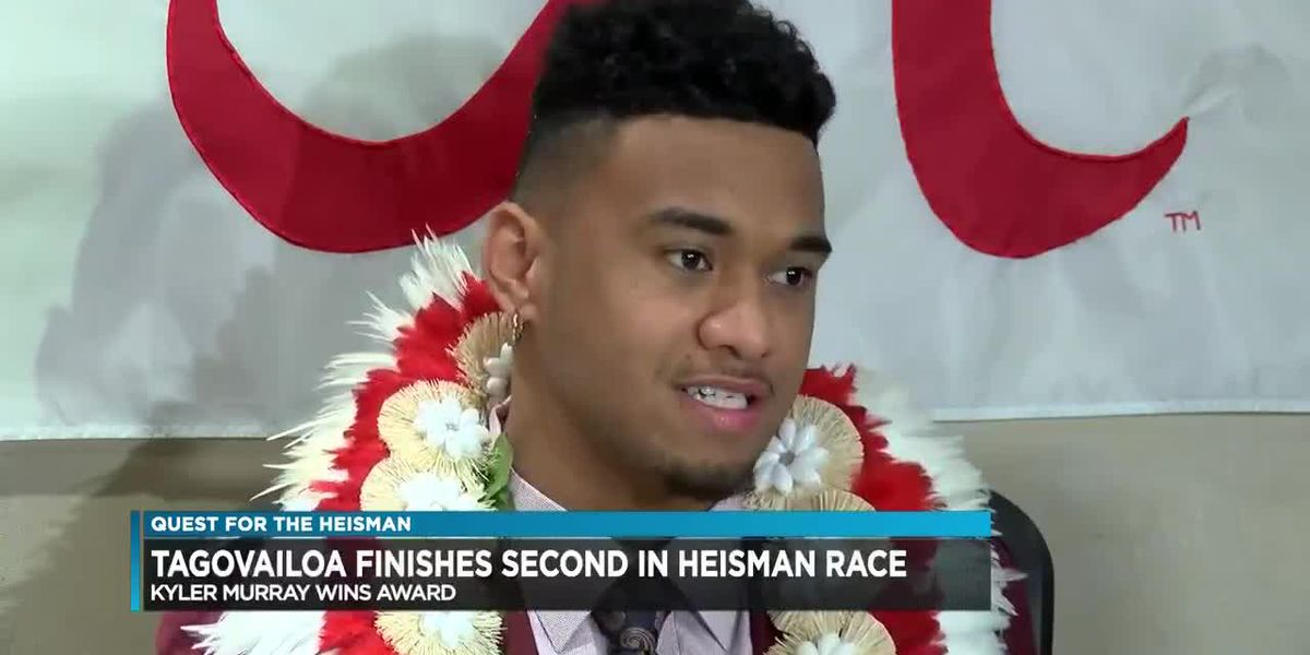 Kyler Murray wins Heisman Trophy; Tagovailoa finishes in 2nd place