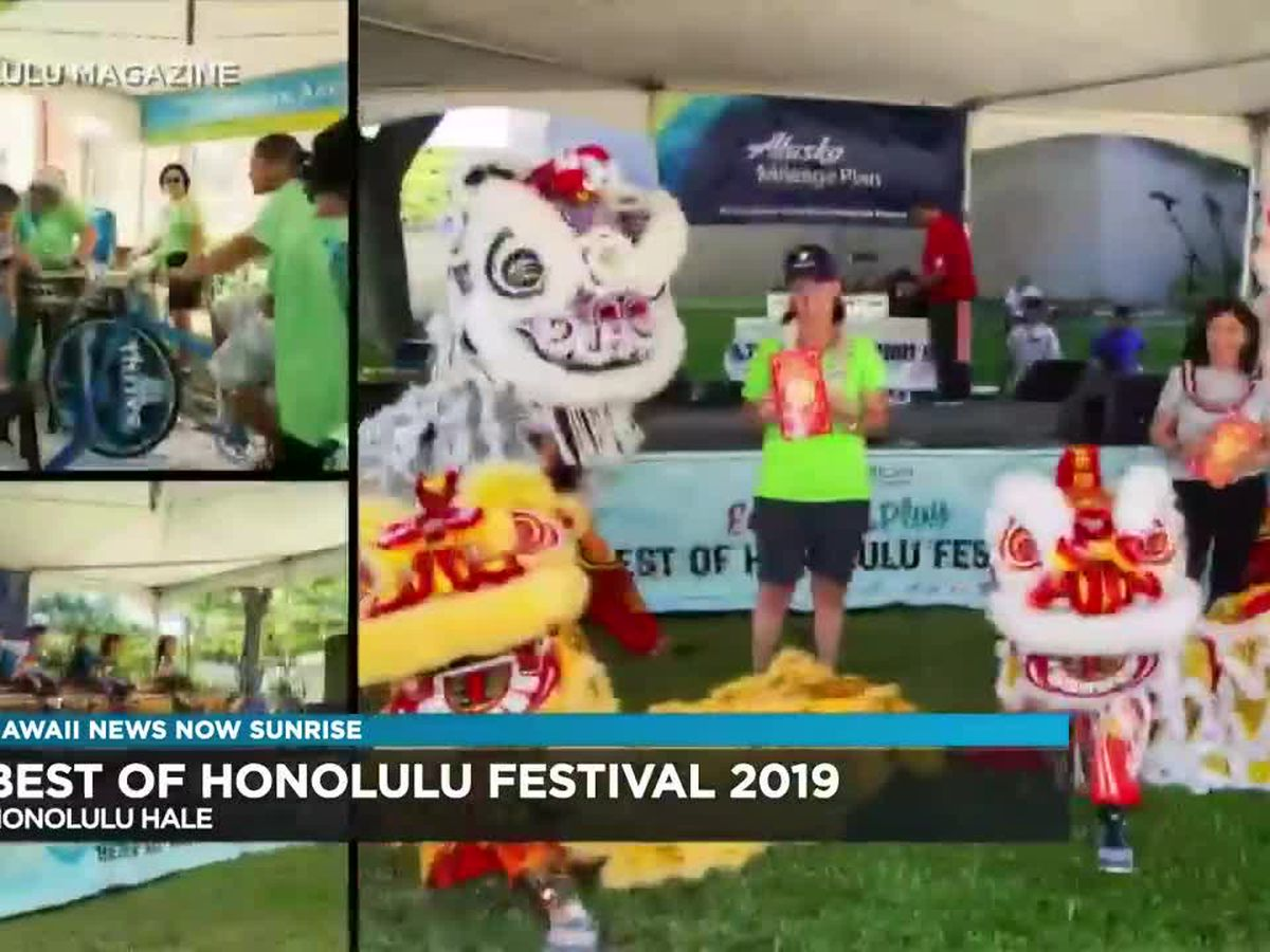 Interview: The Best of Honolulu Festival is happening this weekend!