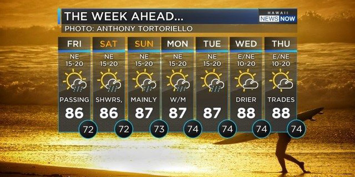 Forecast: Gorgeous weekend weather ahead