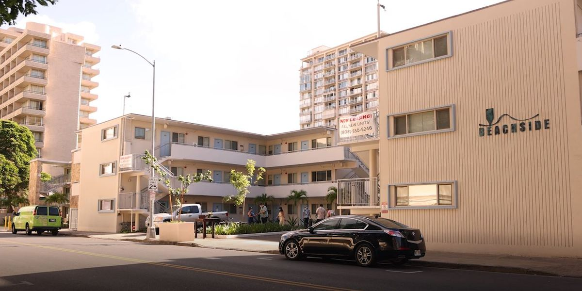 New affordable rental units ready for residents in Waikiki
