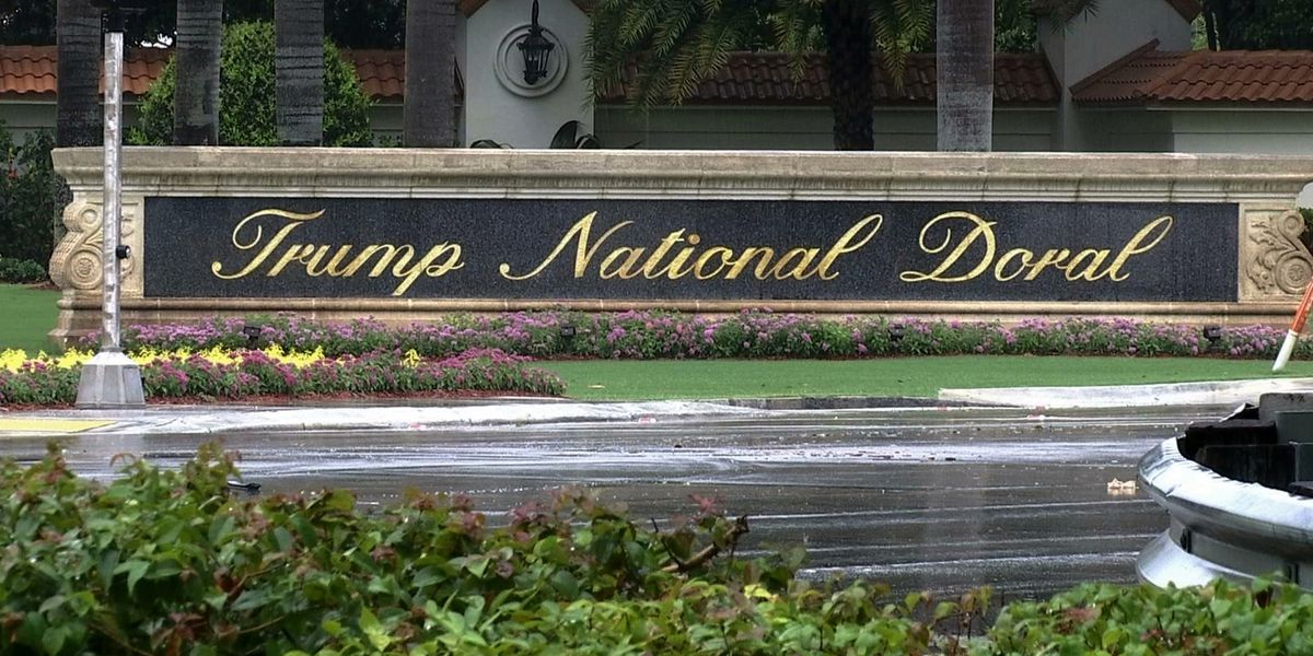 Trump drops plan to host G-7 at his Doral golf resort