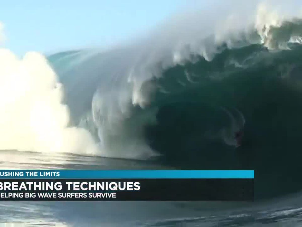 Pushing the Limits: Breathing techniques to help big wave surfers survive