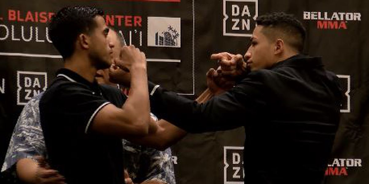 Hawaii fighters Oliveira, Dung bring heat to Bellator 212 faceoffs; other fighters silence crowd