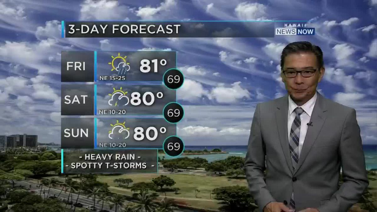 HNN Morning Web Weather Friday, March 27, 2020
