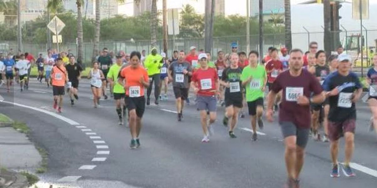 PHOTOS: Thousands hit the pavement for 34th annual Great Aloha Run