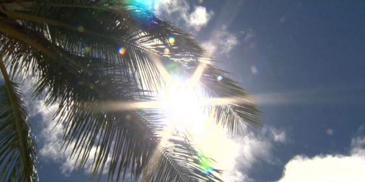 Hilo and most of the Big Island in moderate drought