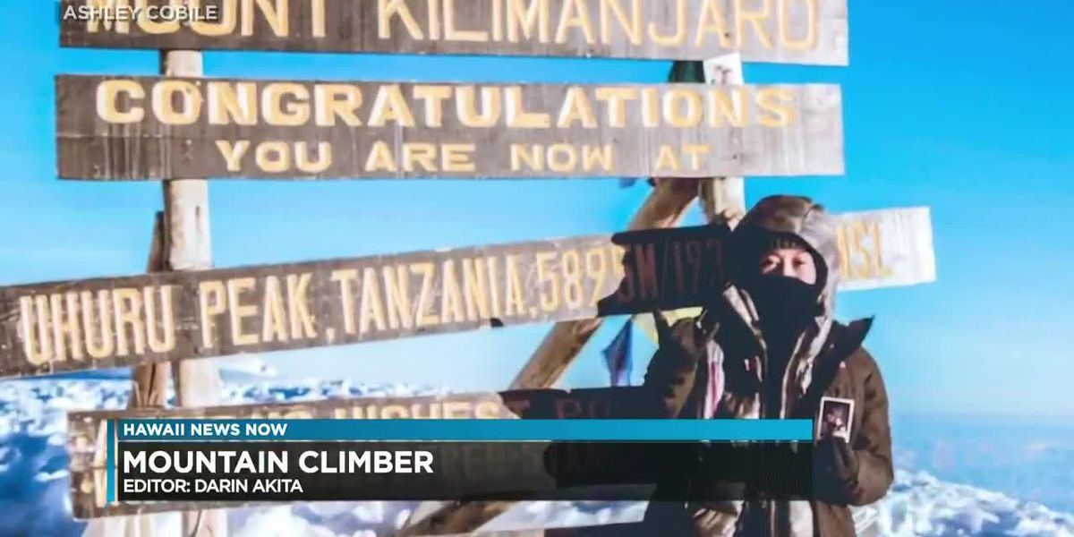 UH student can cross one of her bucket list: She scaled Mount Kilimanjaro